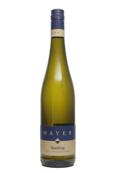 Weinhof Mayer Riesling vom sandigen Mergel