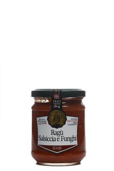 Ragù Salsiccia e Funghi - Ragu aus Salsiccia mit Steinpilzen