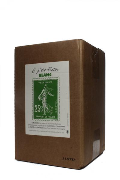 Le Petit Victor blanc Bag in Box Chardonnay Sauvignon Blanc
