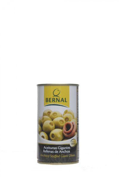 Bernal Oliven gefüllt mit Anchovis