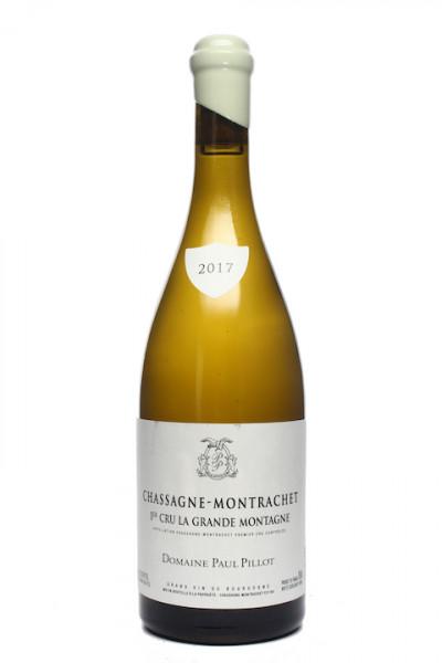 Paul Pillot Chassagne-Montrachet 1er Cru Grand Montagne 2017