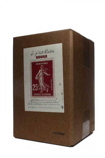 Le Petit Victor rouge Bag in Box Merlot Grenache