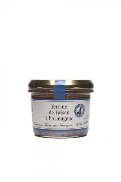 Terrine von Fasan mit Armagnac