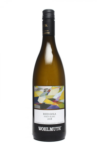 Wohlmuth Pinot Blanc Ried Gola 2018