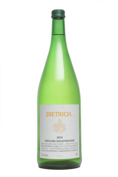 Dietrich Riesling halbtrocken 1,00 Liter