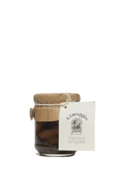 Il Caruggiu Cipolline Grigliate- gegrillte Perlzwiebeln