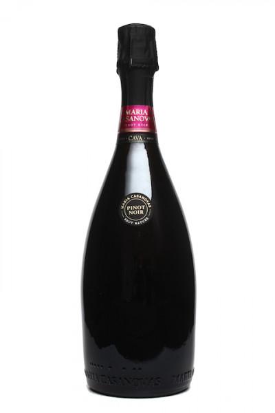 Maria Casanovas Cava Pinot Noir Rosado brut nature