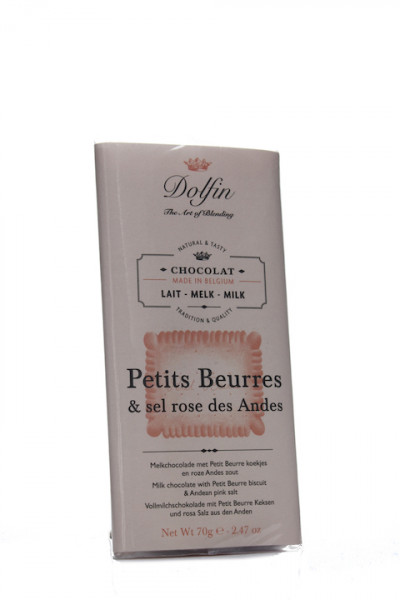 Dolfin Petits Beurres & sel rose des Andes