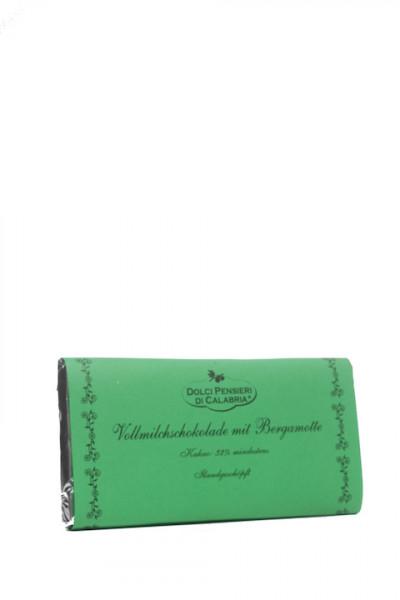Dolci Pensierie di Calabria Vollmilchschokolade mit Bergamotte