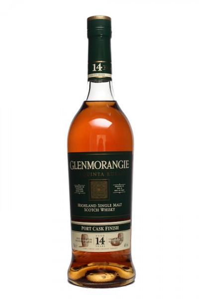 Glenmorangie Quinta Ruban Port casks 14 Jahre Highland Single Malt