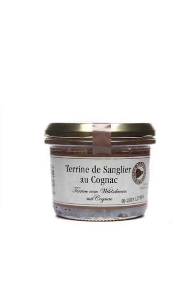 Terrine de Sanglier au Cognac 180 gr.