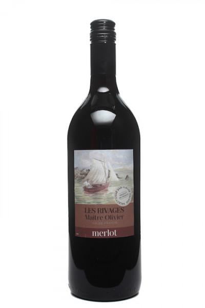 Saint Auriol Les Rivages Merlot Vin de Pays de´ Oc