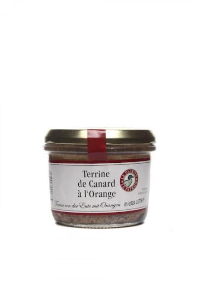 Terrine von der Ente mit Orangen