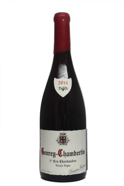 Domaine Fourrier Gevrey Chambertin Cherbaudes 1er Cru 2014