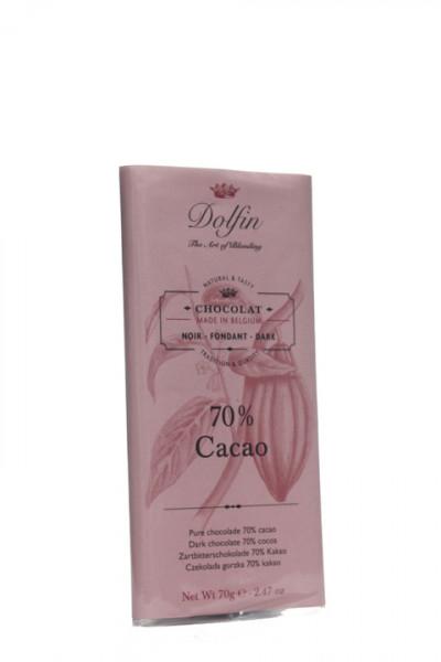 Dolfin Zartbitterschokolade 70 %