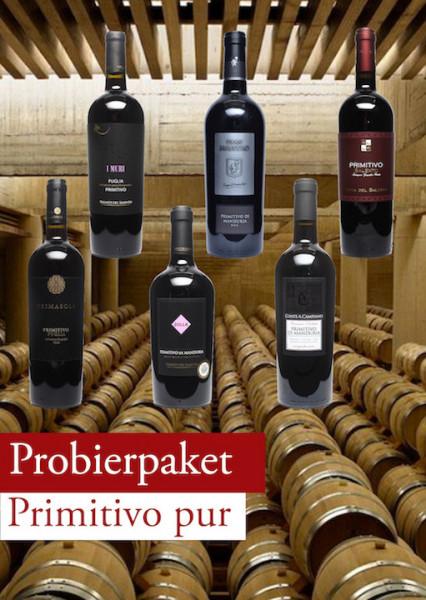 Primitivo pur Probierpaket 12 Flaschen
