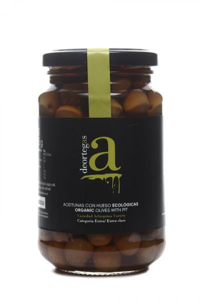 Deortegas Arbequina Oliven mit Stein