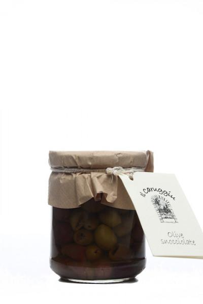 Il Caruggiu Olive Snocciolate