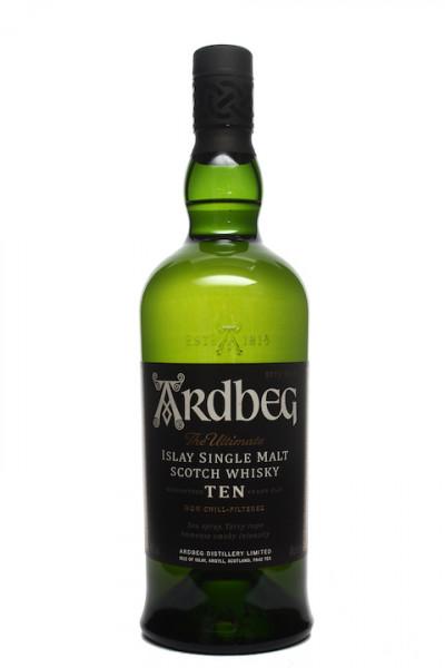 Ardbeg 10 Jahre Islay Single Malt Scotch Whisky Non Chill-Filte