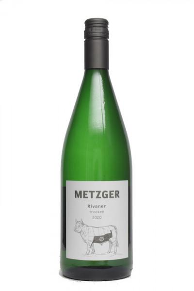 Metzger Rivaner trocken Liter -C-