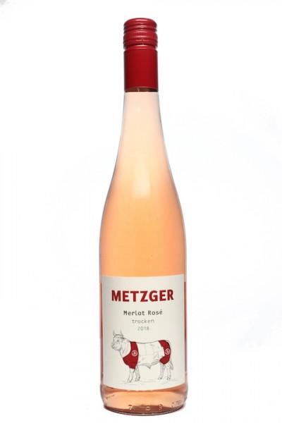 Metzger Merlot Rosé trocken -B-
