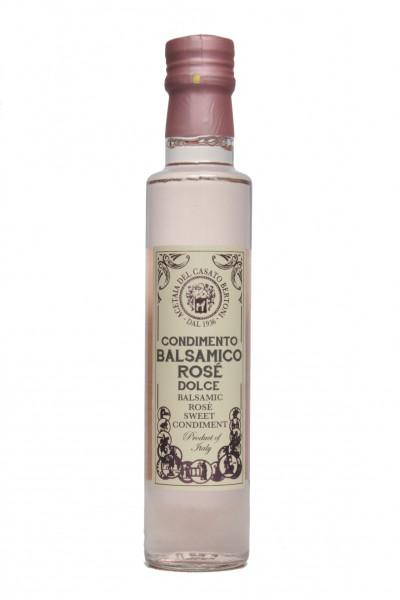 Condimento Balsamico ROSE dolce 0,250 Liter
