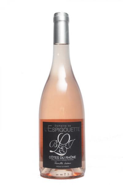 Domaine de l'Espigouette Cotes du Rhone rose