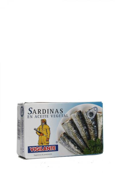 Vigilante Sardinas den aceite vegetal - Sardinen in Pflanzenöl