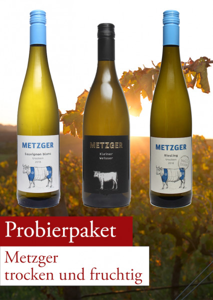 Metzger Probierpaket trocken und fruchtig