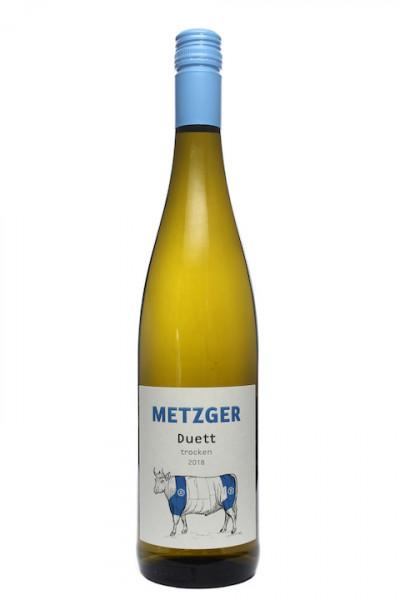 Metzger Duett Sauvignon Blanc Riesling