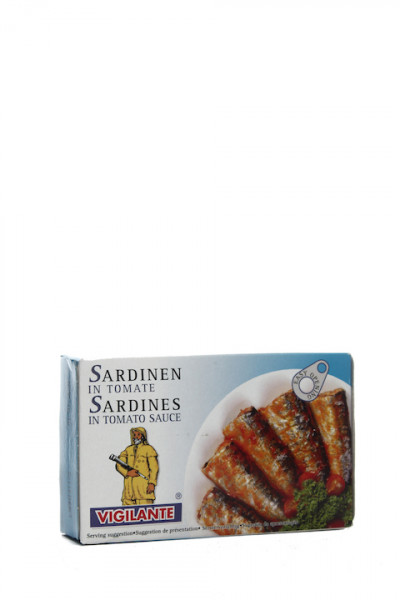 Vigilante Sardinas en Tomate - Sardinen in Tomaten