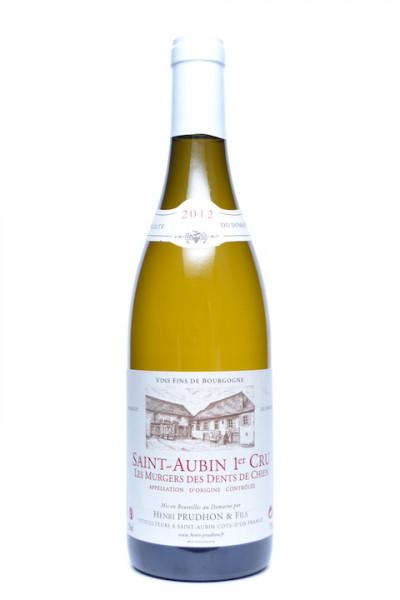 Henri Prudhon Saint-Aubin Les Murgers des Dents de Chien 1er Cru 2012
