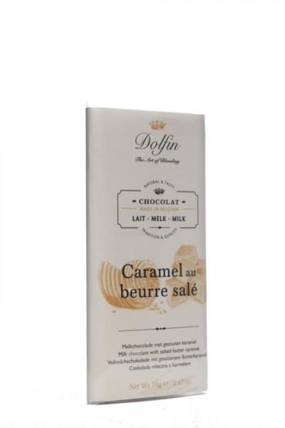 Dolfin Vollmilchschokolade Karamell & gesalzener Butter
