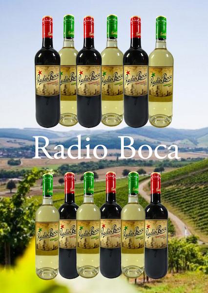 Radio Boka Probierpaket Rot Weiss 12 Flaschen