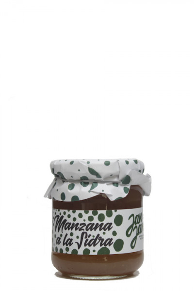Jan Jam Manzana a la Sidra Fruchtaufstrich Apfel mit Apfelwein