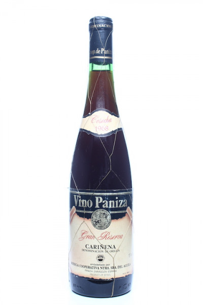 1968 Gran Reserva Vino Paniza