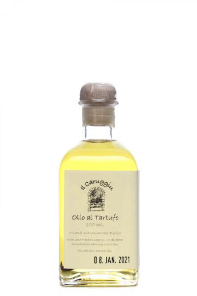 Il Caruggiu Olio al Tartufo - Olivenöl mit scharzem Trüffel