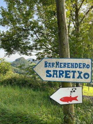 Saretxo – Wartezeit mit Essen